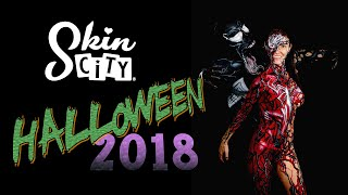 Halloween Body Paint Costumes - 2018 - Skin City