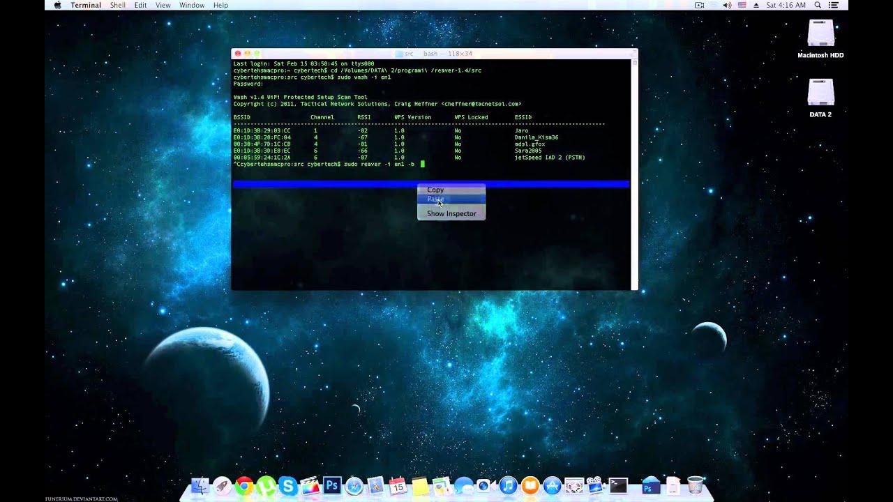 Reaver WPS 1 4 on Mac OSX