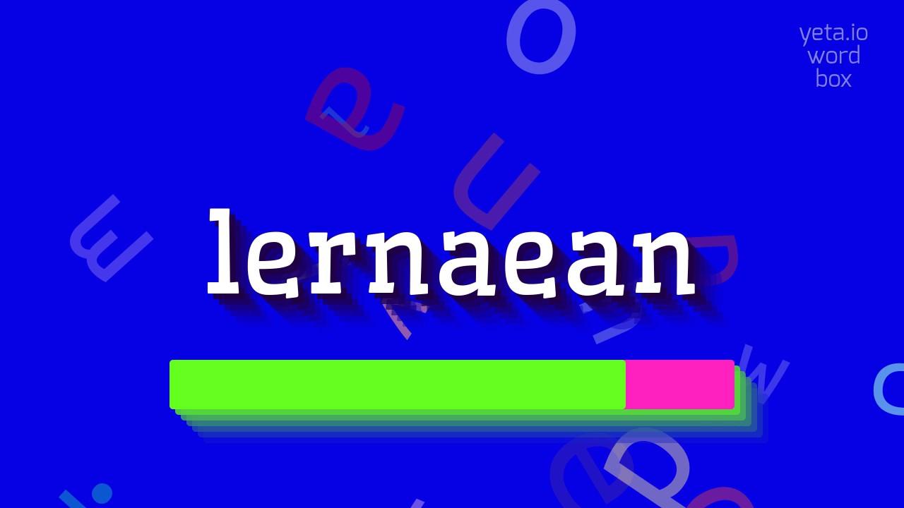 lernaean hydra pronunciation of words