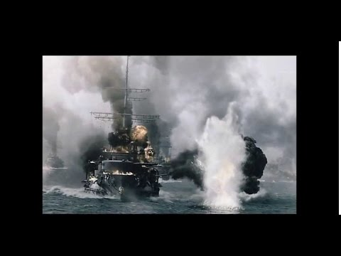 AMAZING SPECIAL EFFECTS--Battle of Tsushima 1905 (World of W