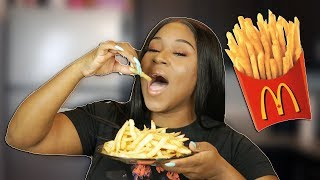 HOW TO MAKE FRENCH FRIES AT HOME LIKE MCDONALDS!