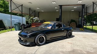 Making the LS3 Miata look good again. first time in years