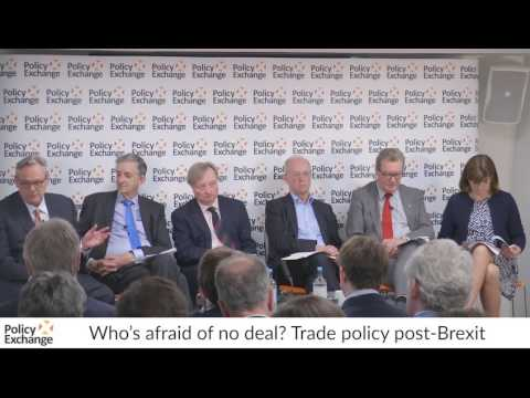 Who's afraid of no deal? Trade policy post-Brexit