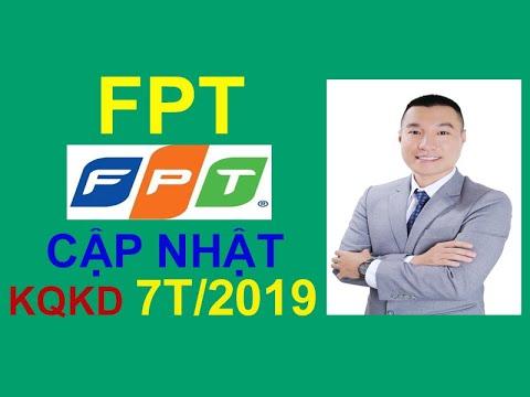 CẬP NHẬT KẾT QUẢ KINH DOANH 7 THÁNG ĐẦU NĂM 2019 CỦA FPT: VƯỢT TRỘI