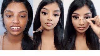 I Followed the Viral Asian Makeup Transformation | Nivii06