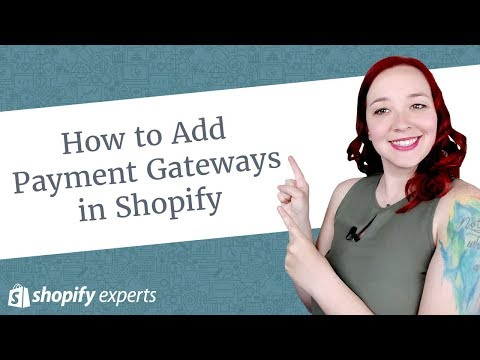 How to Add Payment Gateways in Shopify - YouTube