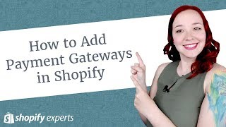 Gambar cover How to Add Payment Gateways in Shopify