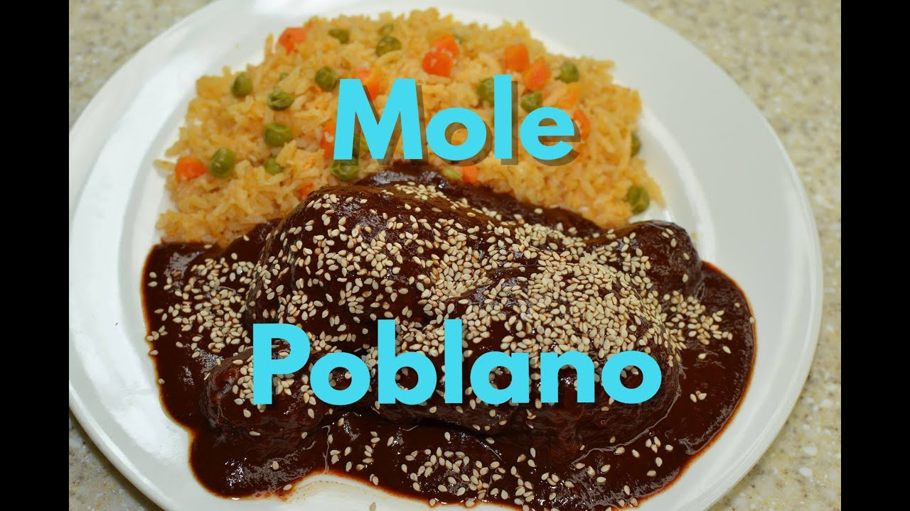 Mole Poblano el original ;) - YouTube