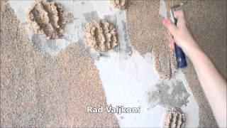 DEKOzid ravnja i prekrivan zidna oštećenja