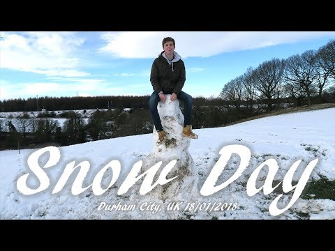 Snow Day Durham University 18 01 2018 Youtube