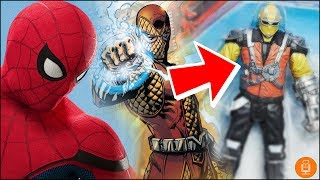 Best Look At The Shocker from Spider-Man Homecoming