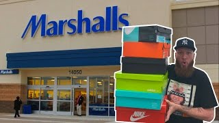 SEARCHING for LIMITED SNEAKERS at MARSHALLS!!! PART 3!!!