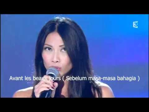 Anggun - Je Partirai With French and Bahasa Lyrics