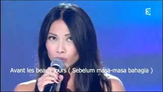 Anggun - Je Partirai With French and Bahasa Lyrics Mp3