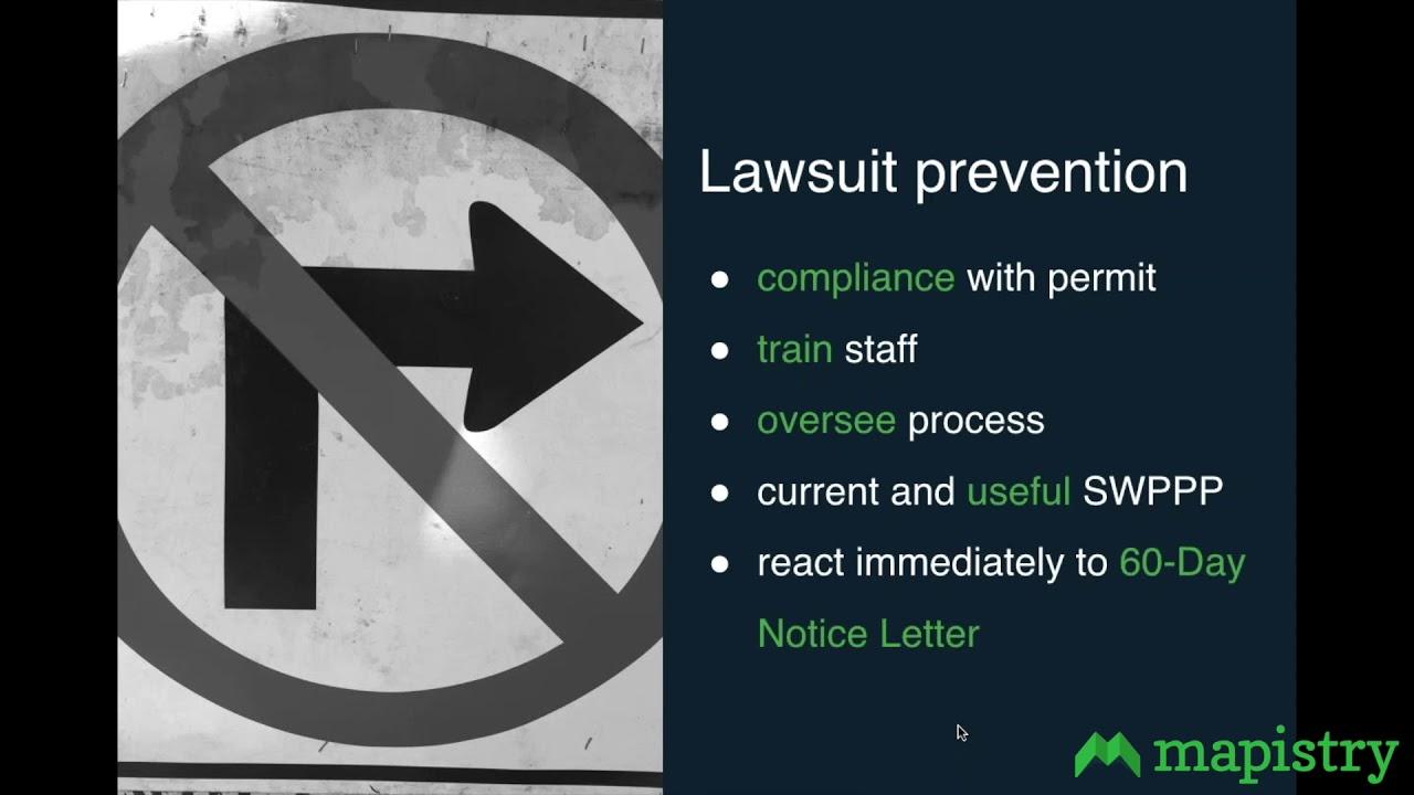 Understanding Stormwater Citizen Lawsuits