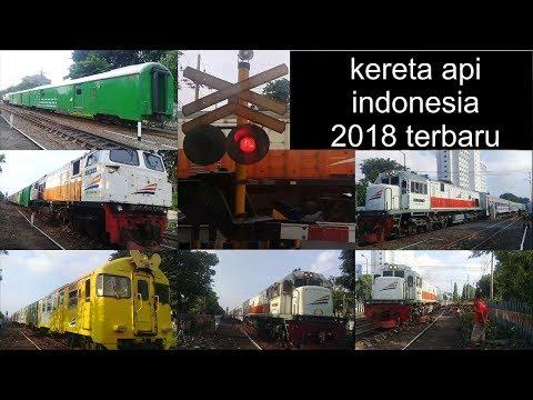 Kompilasi video kereta api indonesia febuari 2018 terbaru di pjl banda sgu