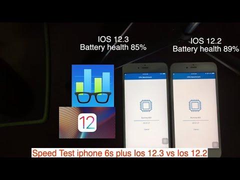 Ios 12.3 vs Ios 12.2 Speed Performance Test On Iphone 6s Plus