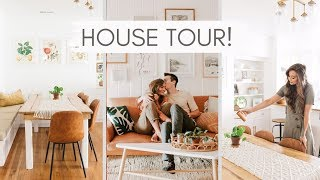 OUR OFFICIAL HOUSE TOUR!