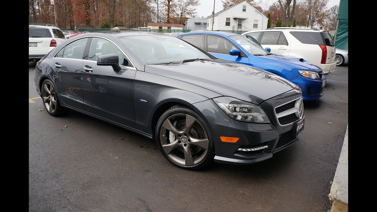 2012 mercedes benz cls class cls550 4matic youtube
