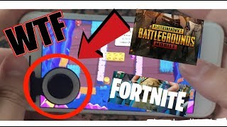 Controller Joystick for Mobile Phone ! FORTNITE PUPG CHEAT Smartphone. Gadget test, is it worth it?