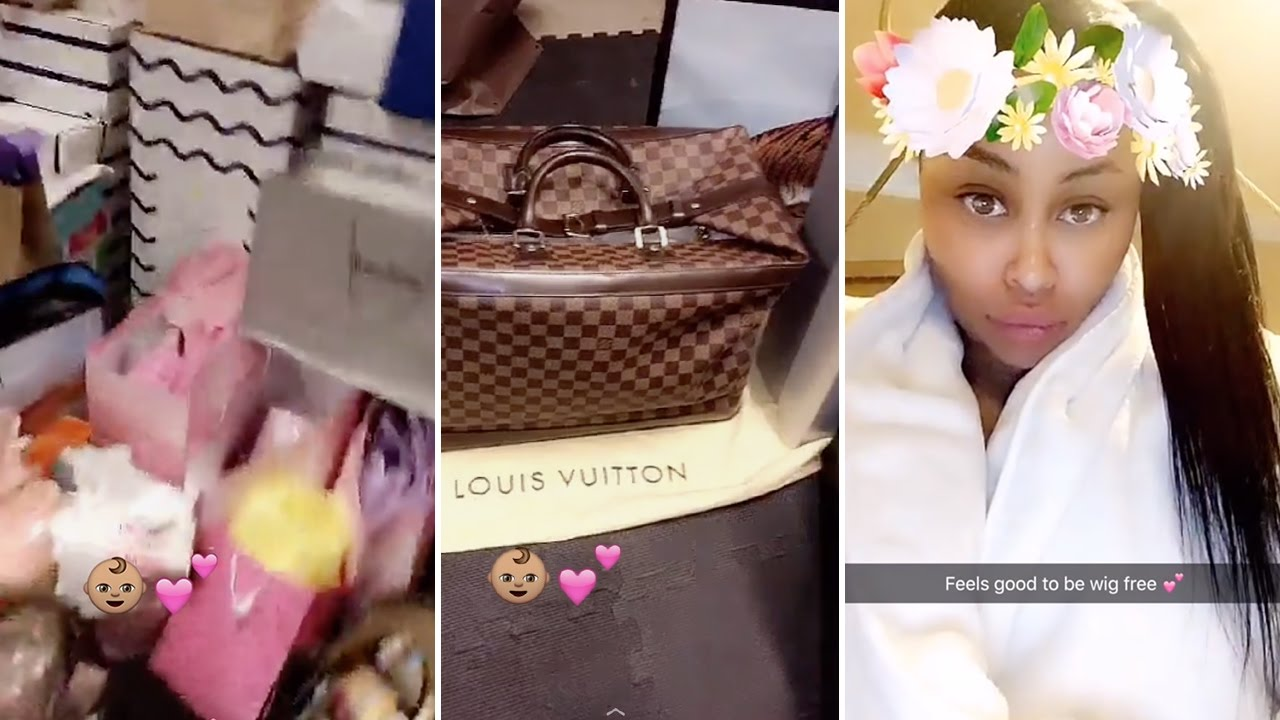 Superior Blac Chyna | My $30,000 Baby Shower Haul | Louis Vuitton, Chanel U0026 More    YouTube