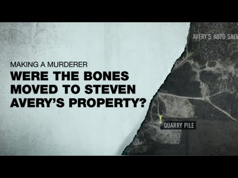 STEVEN AVERY | were the bones moved to his property?
