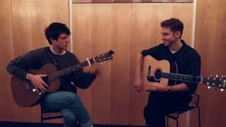 Alec Benjamin & Nicklas Sahl - Let Me Down Slowly (Official Live Video)