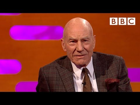 Patrick Stewart reveals secrets from the new Star Trek!  - BBC The Graham Norton Show