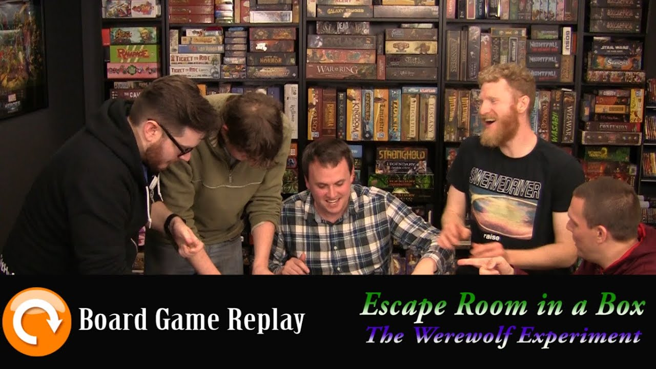 Escape The Room Werewolf Experiment
