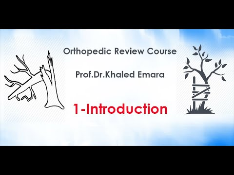 1-Introduction of pediatric orthopedic – prof.Dr.khaled emara | مقدمة عظام الاطفال -د خالد عمارة #Orthopedicsurgery
