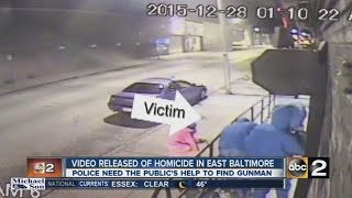 Video released in Baltimore homicide
