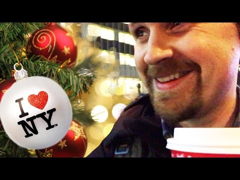 TCE #010 Christmas in NEW YORK CITY - Radio City | Rockefeller Center | Macy's  - VLOG