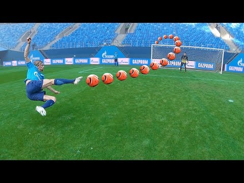 Смотреть freekickerz VS Zenit St. Petersburg - Football Challenges онлайн