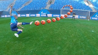 freekickerz VS Zenit St. Petersburg - Football Challenges