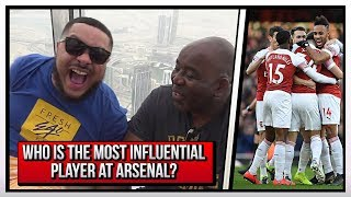 Who's The Most Influential Player At Arsenal? | Robbie & Troopz On The Burj Khalifa | AFTV In Dubai