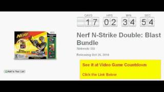 Nerf N-Strike Double: Blast Bundle Wii Countdown