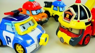 Water Poli Robocar Poli Car Toys Marine And Rescue Fire Truck Play