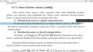 İst Üni #İLİTAM / #Arapça 1 / 11.Ünite / İZAFET TERKİBİ