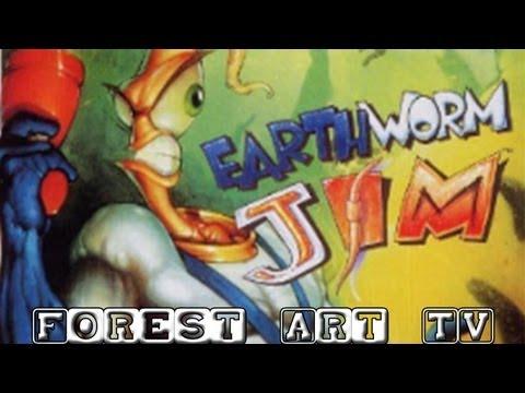 Обзор игры Earthworm Jim