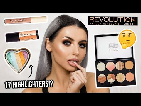 TESTING NEW REVOLUTION MAKEUP / FULL FACE + FIRST IMPRESSIONS! HOT OR NOT!?