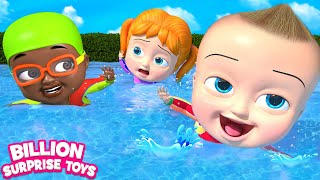 Little Babies Went for Swimming Song - Kids Nursery Rhymes