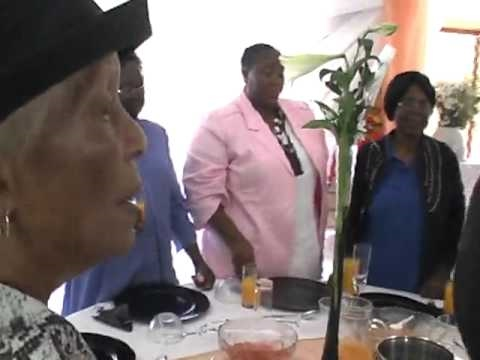 Not Toast >> Vuyo Mbuli - Leading a toast @ Soweto 47 years wedding Anniversary - YouTube