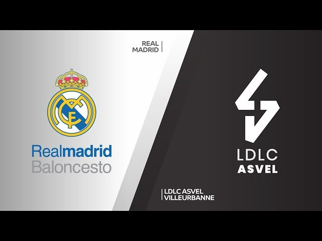 Real Madrid - LDLC ASVEL Villeurbanne Highlights | Turkish Airlines EuroLeague, RS Round 28