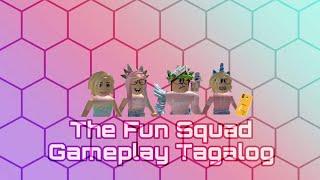 El Escuadrón divertido Primer Juego Juego de Tagalog El triturador Roblox