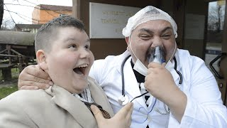 Mr Bean as a Kid and The Doctor