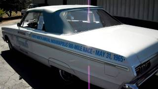 FOR SALE 1965 Plymouth Sport Fury Indianapolis 500 Pace Car Convertible