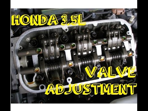 valve adjustment how to honda acura 3 5 pilot odyssey mdx rh youtube com 2004 Acura TL Body Kit 2004 Acura TL Seat Covers