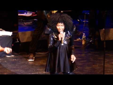"""THE CRYSTALS SINGER """" LA LA BROOKS """" AND THEN HE KISSED ME - COUNT BASIE THEATRE  06-09-2017"""
