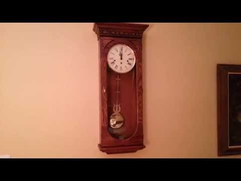 Howard Miller 613-110 WESTMONT Westminster Chime Jeweler's Regulator wall clock