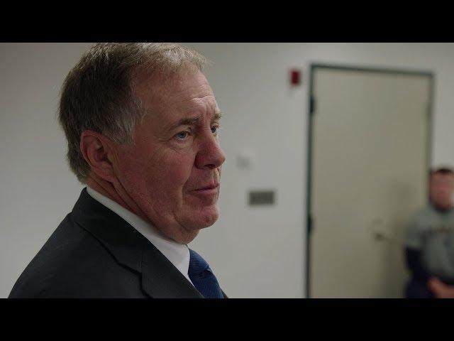 Bill Belichick Addresses the Midshipmen | A SEASON WITH NAVY FOOTBALL | SHOWTIME